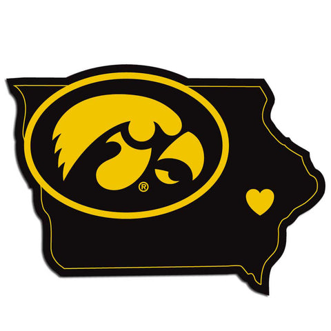 Iowa Hawkeyes Home State Decal