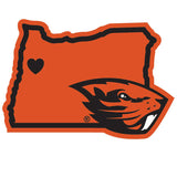 Oregon St. Beavers Home State Decal
