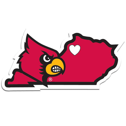 Louisville Cardinals Home State Decal
