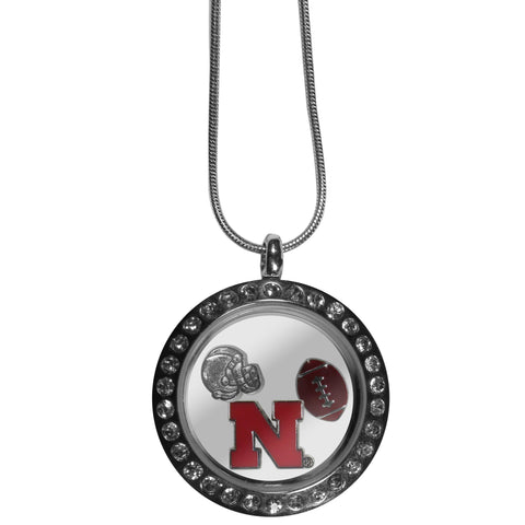 Nebraska Cornhuskers Locket Necklace