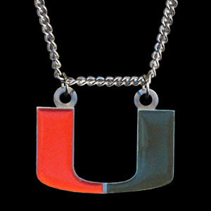 Miami Hurricanes Chain Necklace