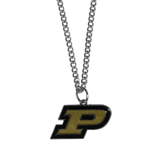 Purdue Boilermakers Chain Necklace with Small Charm