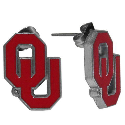 Oklahoma Sooners Stud Earrings