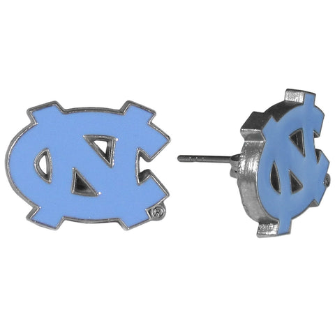 N. Carolina Tar Heels Stud Earrings