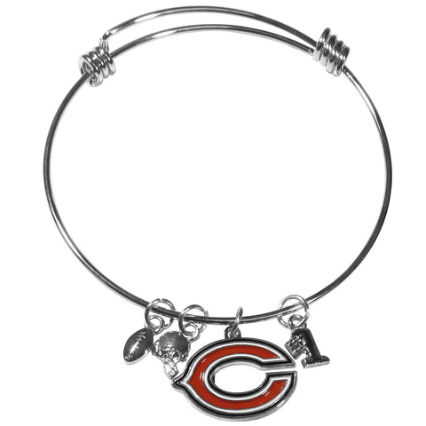 Chicago Bears Charm Bangle Bracelet