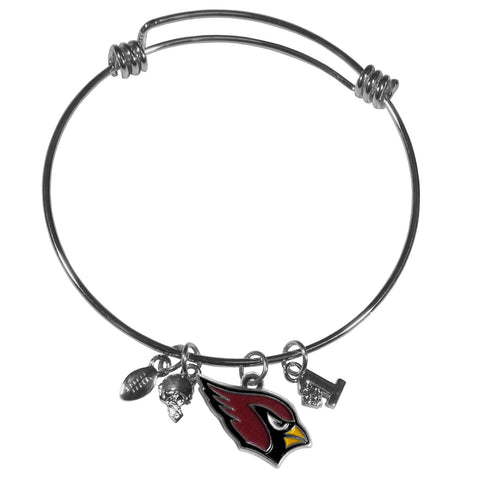 Arizona Cardinals Charm Bangle Bracelet