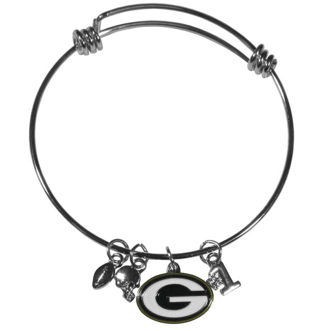 Green Bay Packers Charm Bangle Bracelet