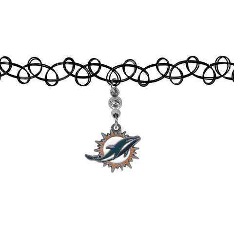 Miami Dolphins Knotted Choker