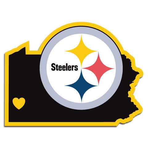 Pittsburgh Steelers Home State Decal