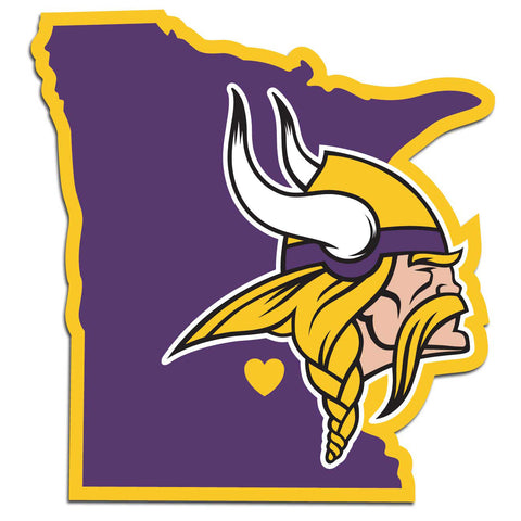 Minnesota Vikings Home State Decal