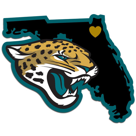 Jacksonville Jaguars Home State Decal