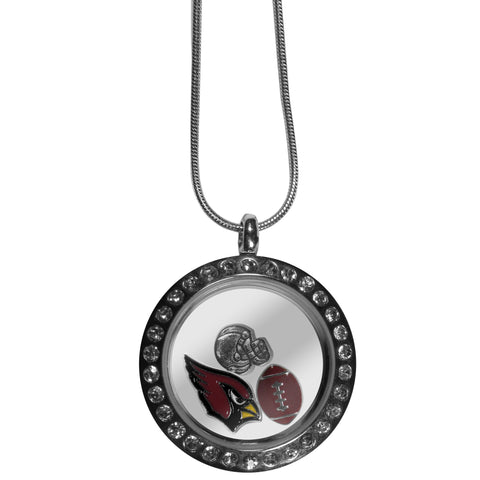 Arizona Cardinals Locket Necklace
