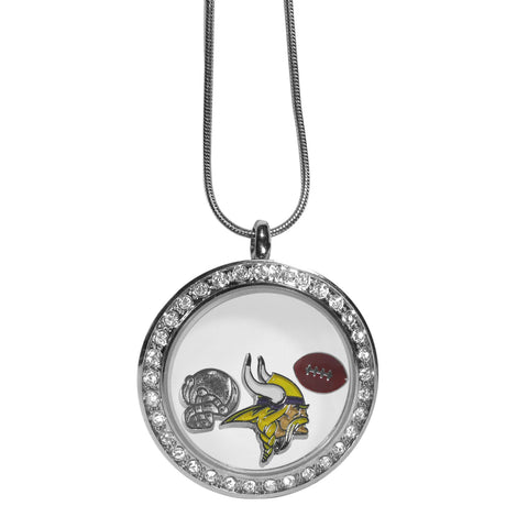 Minnesota Vikings Locket Necklace