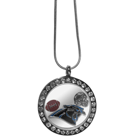 Carolina Panthers Locket Necklace