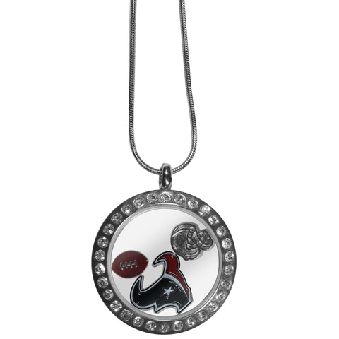 Houston Texans Locket Necklace