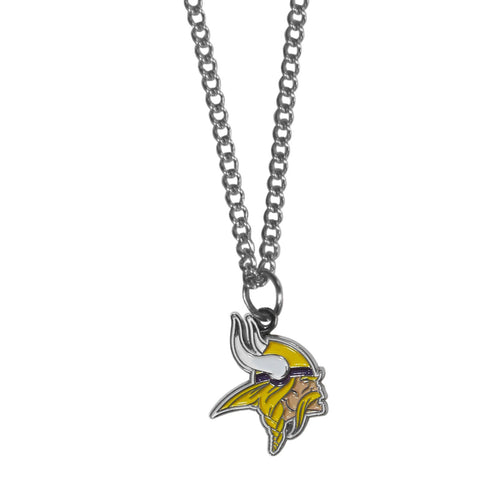 Minnesota Vikings Chain Necklace with Small Charm
