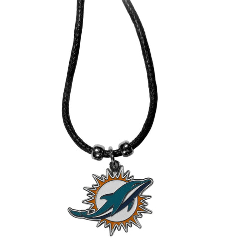 Miami Dolphins Cord Necklace