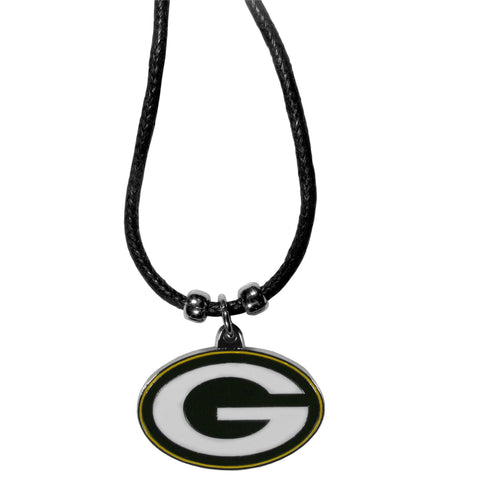Green Bay Packers Cord Necklace
