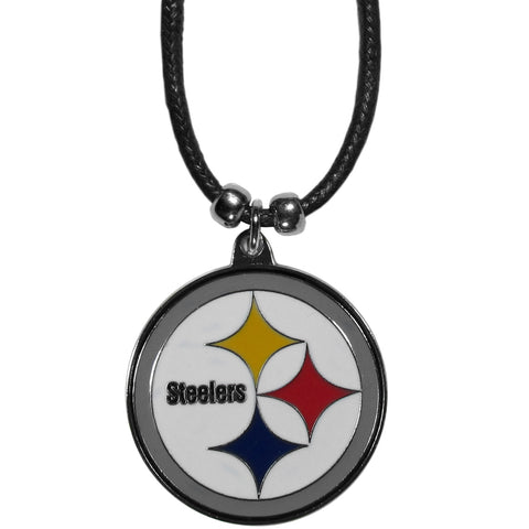 Pittsburgh Steelers Cord Necklace