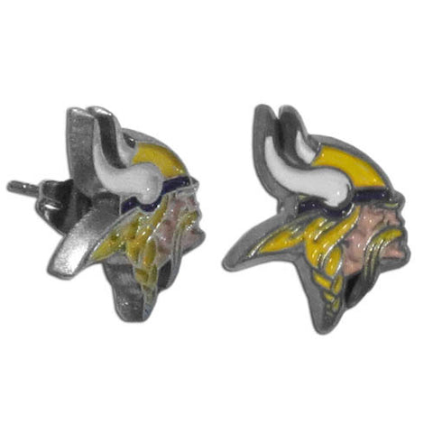 Minnesota Vikings Stud Earrings