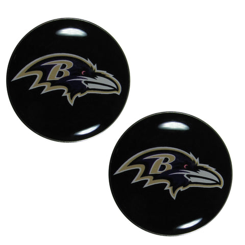 Baltimore Ravens Ear Gauge Pair