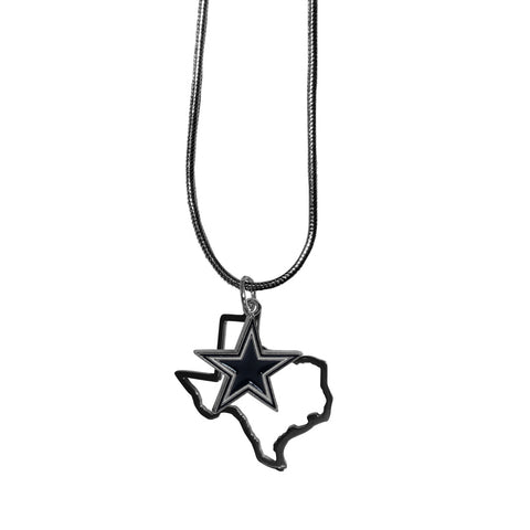 Dallas Cowboys State Charm Necklace