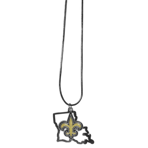 New Orleans Saints State Charm Necklace