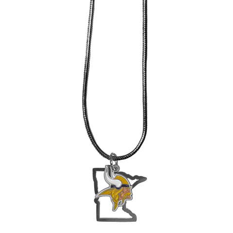 Minnesota Vikings State Charm Necklace