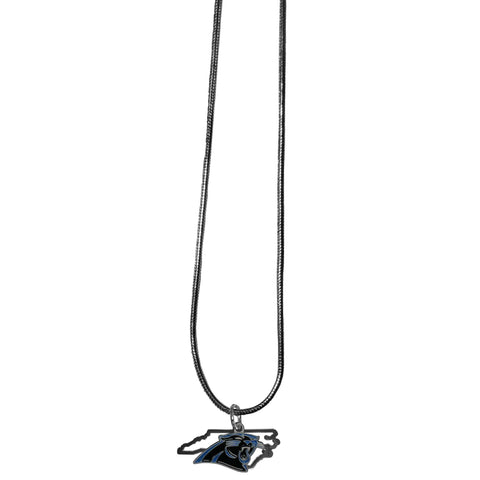 Carolina Panthers State Charm Necklace