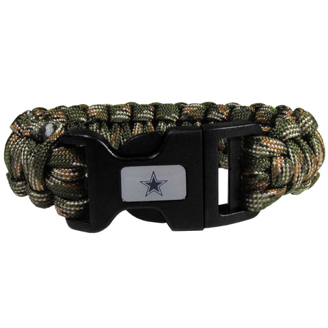 Dallas Cowboys Camo Survivor Bracelet