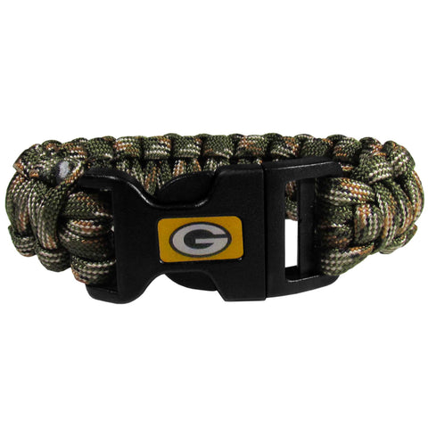 Green Bay Packers Camo Survivor Bracelet
