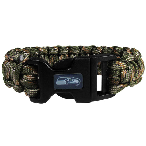Seattle Seahawks Camo Survivor Bracelet
