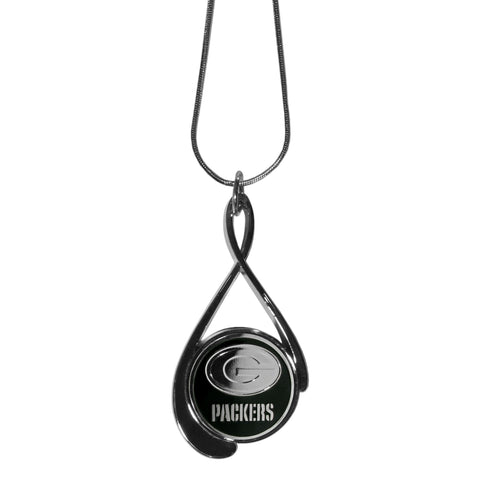 Green Bay Packers Tear Drop Necklace