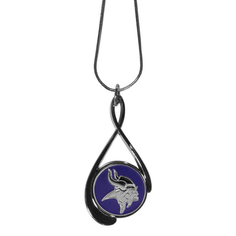 Minnesota Vikings Tear Drop Necklace