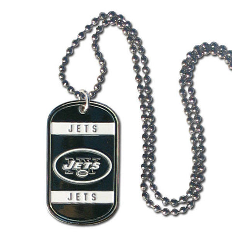 New York Jets Tag Necklace