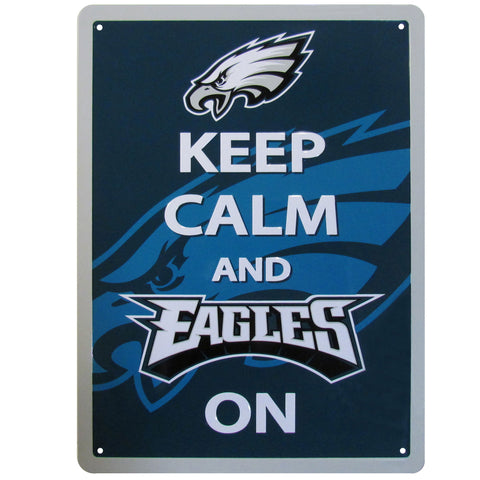 Philadelphia Eagles Keep Calm Sign