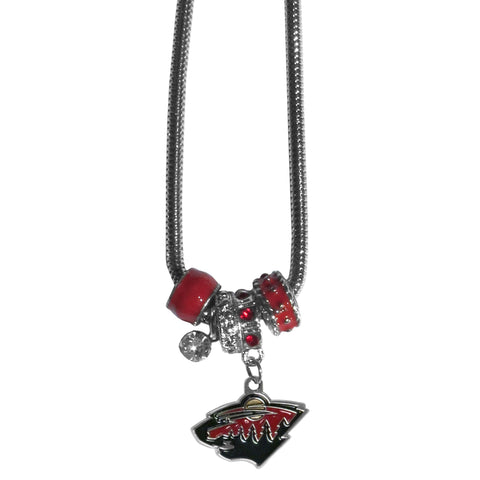 Minnesota Wild® Euro Bead Necklace