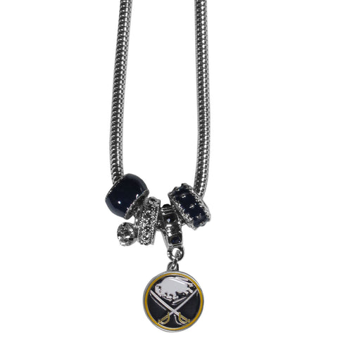 Buffalo Sabres® Euro Bead Necklace