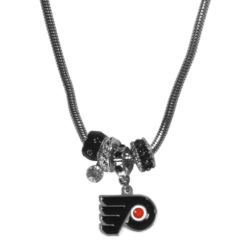 Philadelphia Flyers® Euro Bead Necklace