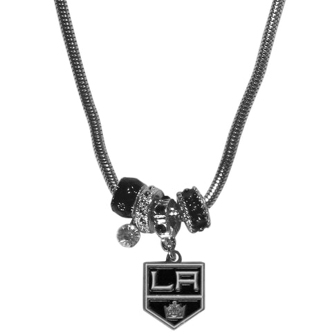Los Angeles Kings® Euro Bead Necklace