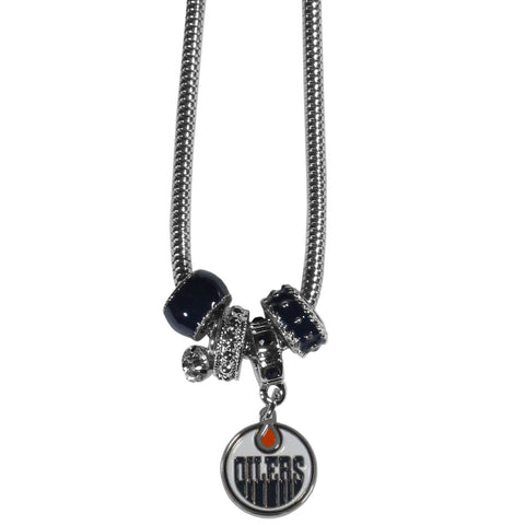 Edmonton Oilers® Euro Bead Necklace