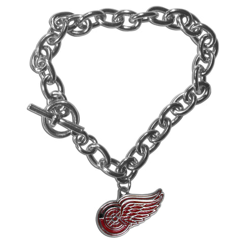 Detroit Red Wings® Charm Chain Bracelet