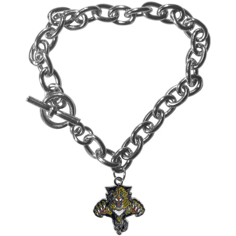 Florida Panthers® Charm Chain Bracelet  In Stock