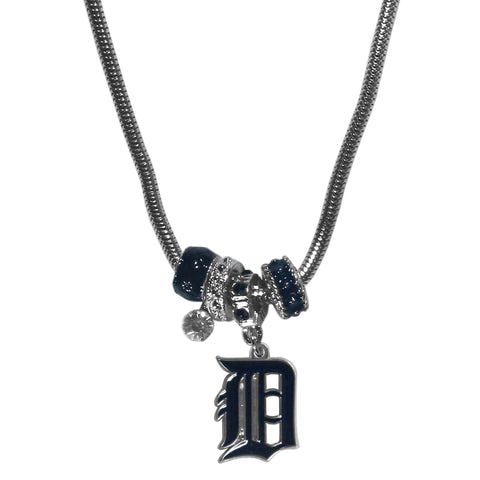 Detroit Tigers Euro Bead Necklace