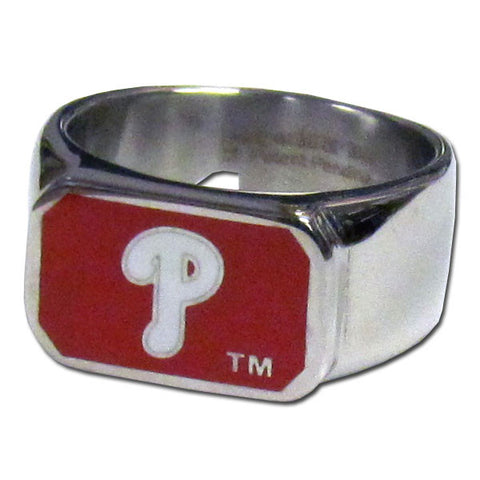 Philadelphia Phillies Steel Ring