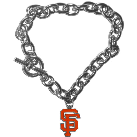 San Francisco Giants Charm Chain Bracelet