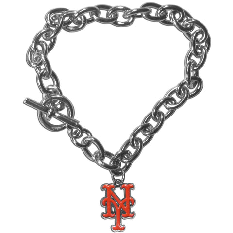 New York Mets Charm Chain Bracelet