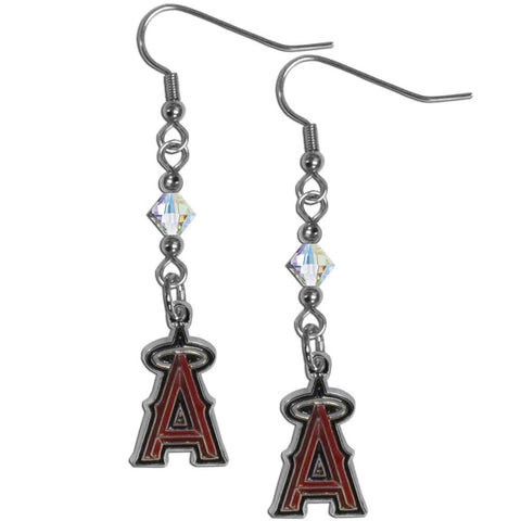 Los Angeles Angels of Anaheim Crystal Dangle Earrings