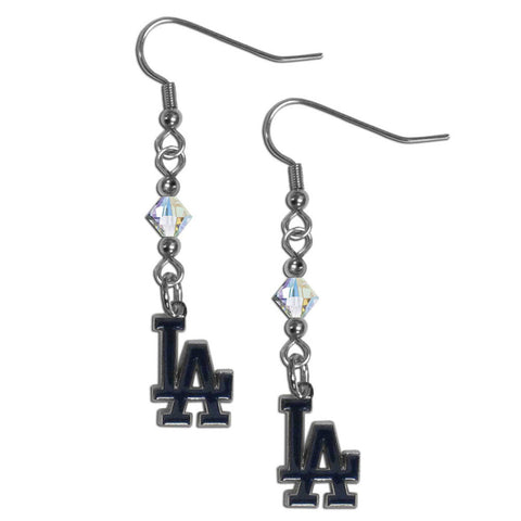 Los Angeles Dodgers Crystal Dangle Earrings