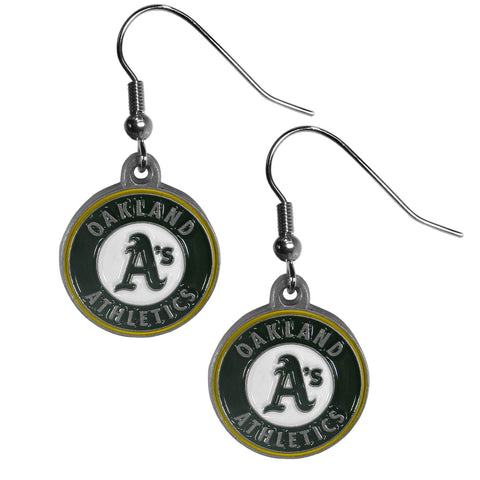 Oakland Athletics Dangle Earrings